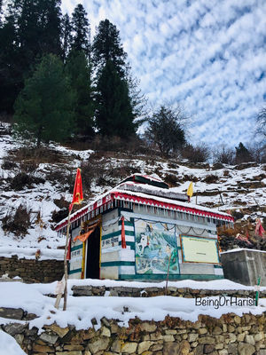 Winters In Parvati Valley:Tosh,Kheerganga,Manikaran And Kasol. #Bestof2018
