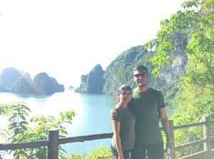 Halong Bay- You Beauty!! So serene & calm!! 2nd Anniversary Celebration!!