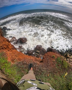 Gopro things from the cliff