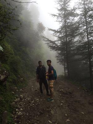 #hillstation #mountains #trekking #fog