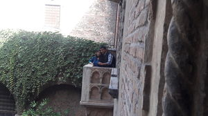 Juliet's Famous Balcony !  #Placeoflove #Lovelyplace