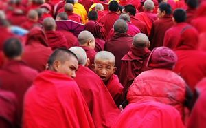 Listen to the winds chanting the words of Buddha-The Thikse Monastery