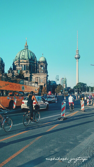 It was taking in Germany Berlin the vibe was really so good