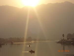 """Beautiful Sunrise at DAL LAKE...Srinagar..Kashmir"""""""