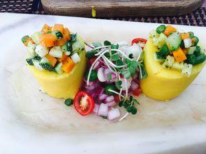 A passionate vegetarian in Peru!!