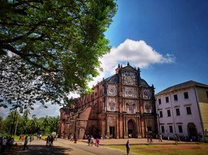 Basilica of Bom Jesus - A must visit church, if you are in Goa. Amazing architecture...