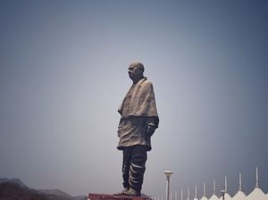 Statue of unity - The tallest statue in the world.