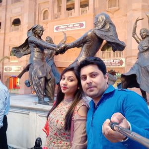 Me with my hubby  At amritsar