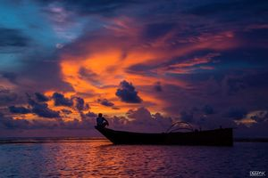 Dramatic Sky :This shot is from Andamans. I took this shot in Port Blair Sunset time .