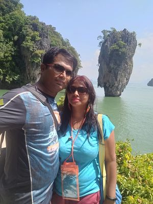 #SelfieWithAView  #TripotoCommunity #SelfieAtJamesBondIsland #ThailandTrip