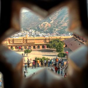 A starry view of Amer fort