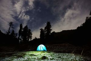 Isolation#Camping#Wrapped in and around the midst of Gangotri Range @tripoto community