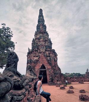 Ayodhya or Ayutthaya // Wat Chaiwatthanaram ????