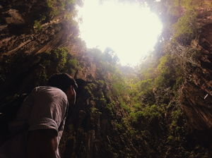 Light at the end of the tunnel // Gomantong Caves ????????