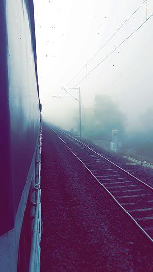#tripotocommunity #foggy #weather #Indian #Railway