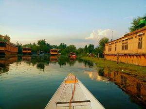 The tranquil Dal lake  @tripotocommunity  #peace #dallake  #heaven  #paradise