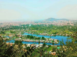 View from Shankaracharya Temple,  Srinagar  @tripotocommunity #fullcity #trip #love