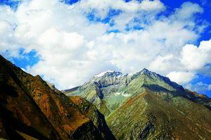 View from Zojila pass  @tripotocommunity  #sonamarg  #trek #trip