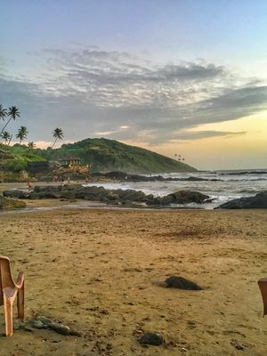 Slice of Heaven at Vagator Beach #TakeMeToGoa #TripToCommunity