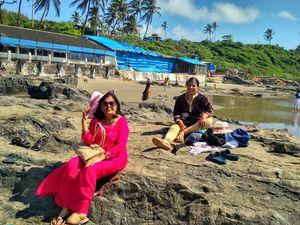 Arjuna  /  Vegotar    beach Goa