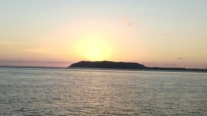 Amazing view of sunset