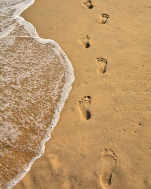Footsteps that take you to a better place ...