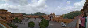 Amer mahal front view