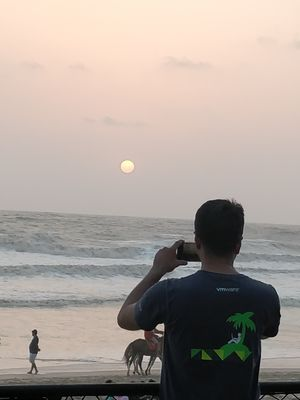 A wonderful evening at kashid beach
