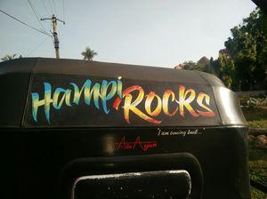 Hippie • Happy • Hampi!