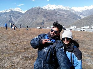 Somewhere in spiti valley with the sweetest person