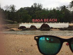 Baga beach evening