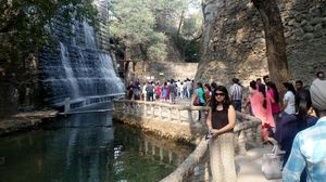 This is chandigarh and i love chandigarh .. The name of the place is rock garden  Must visit place