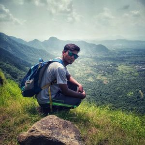 Mountains call ur to enjoy the nature...