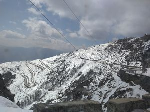 Route to Sela pass