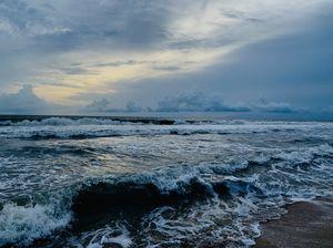 Chavakkad Beach-Feeling a Little BLUE #colourBlue