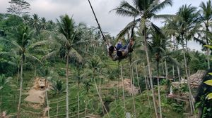 Fly high with Bali high swing... largest swing @tripotocommunity.. love to travel