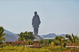"World's Highest Statue- ""STATUE OF UNITY"""
