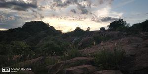 Pleasant ,Sun set sky view at Kanakapura #TripToTakeMeToGoa#TripToCommunity
