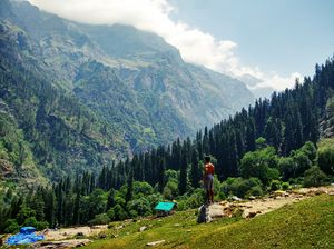 Wandering at the beauty of Parvati valley..????