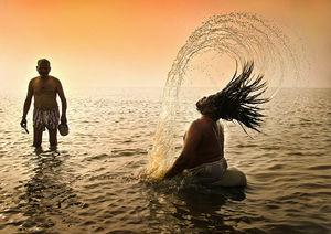 Devotee at Sagar Island #TripToTakeMeToGoa