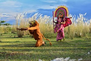 Chow ...  A Dance of Bengal   @tripotocommunity