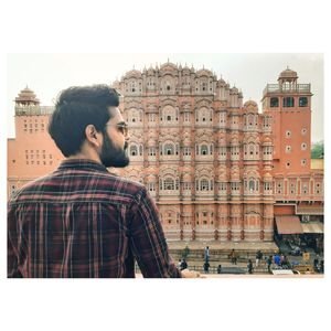 Hawa mahal .this is best architectural monument..must visit place ...