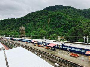 A railway station like no other .