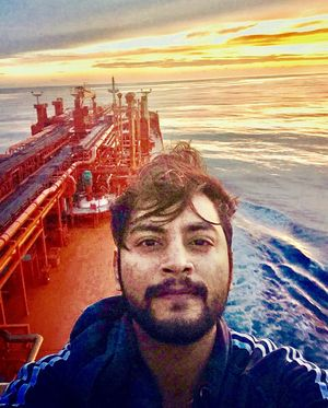 #SelfieWithAView #TripotoCommunity  Somewhere in the middle of Atlantic Ocean !