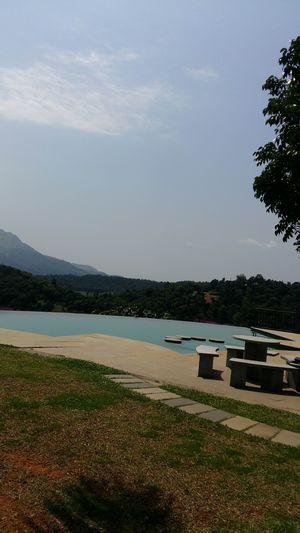 #beautiful kerala #wayanad #serenemountains#blueesky#greenery