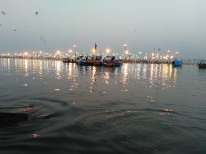 Picture taken at Allahabad Sangam.