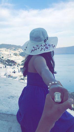Beautiful santorini#travel the globe