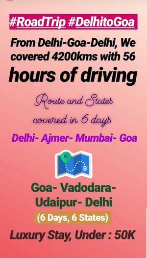 Road Trip: Delhi-Goa-Delhi