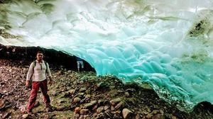 Under the ice...
