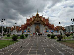 Wat benchamabophit temple de marble temple , Bangkok, Thailand